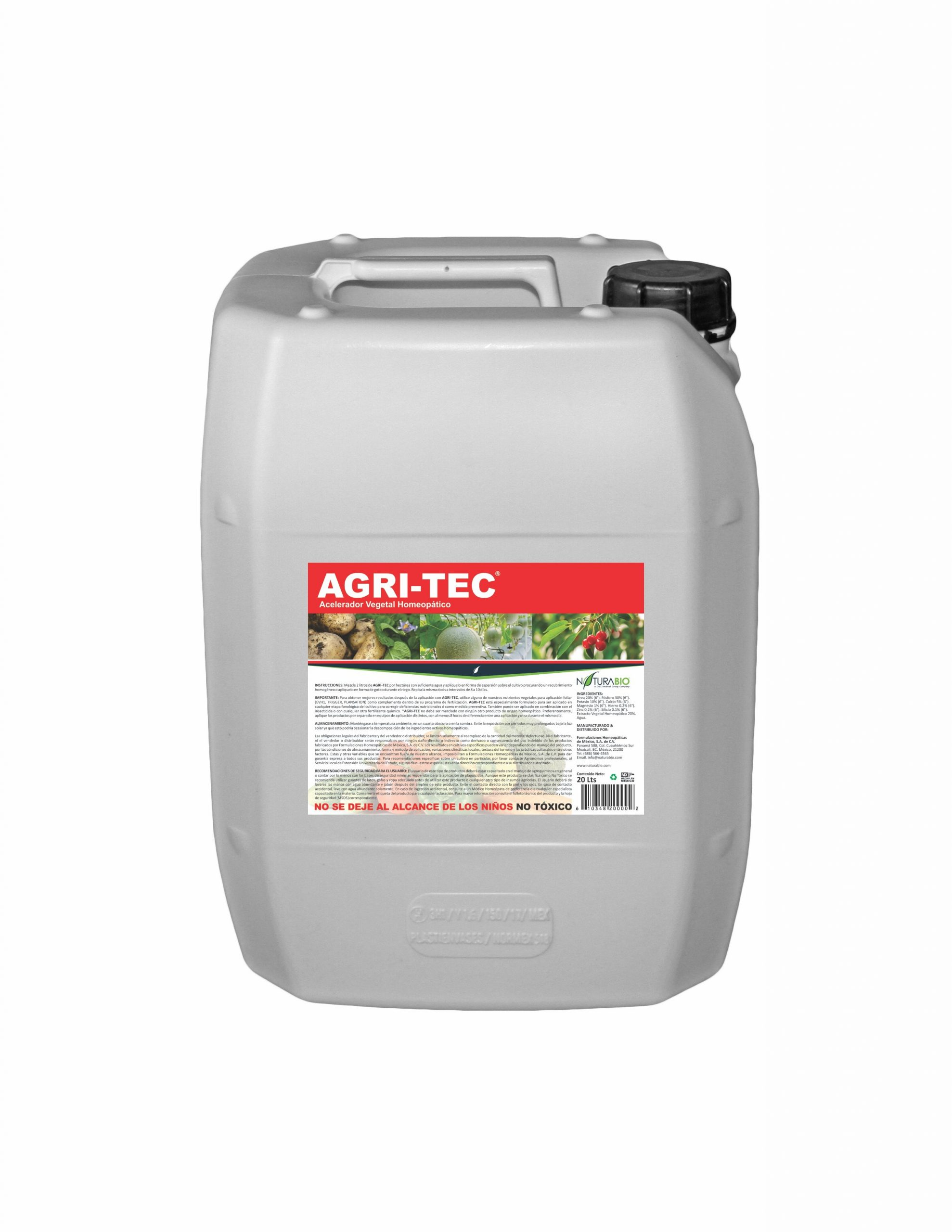 AGRI-TEC Acelerador Vegetal Homeopático