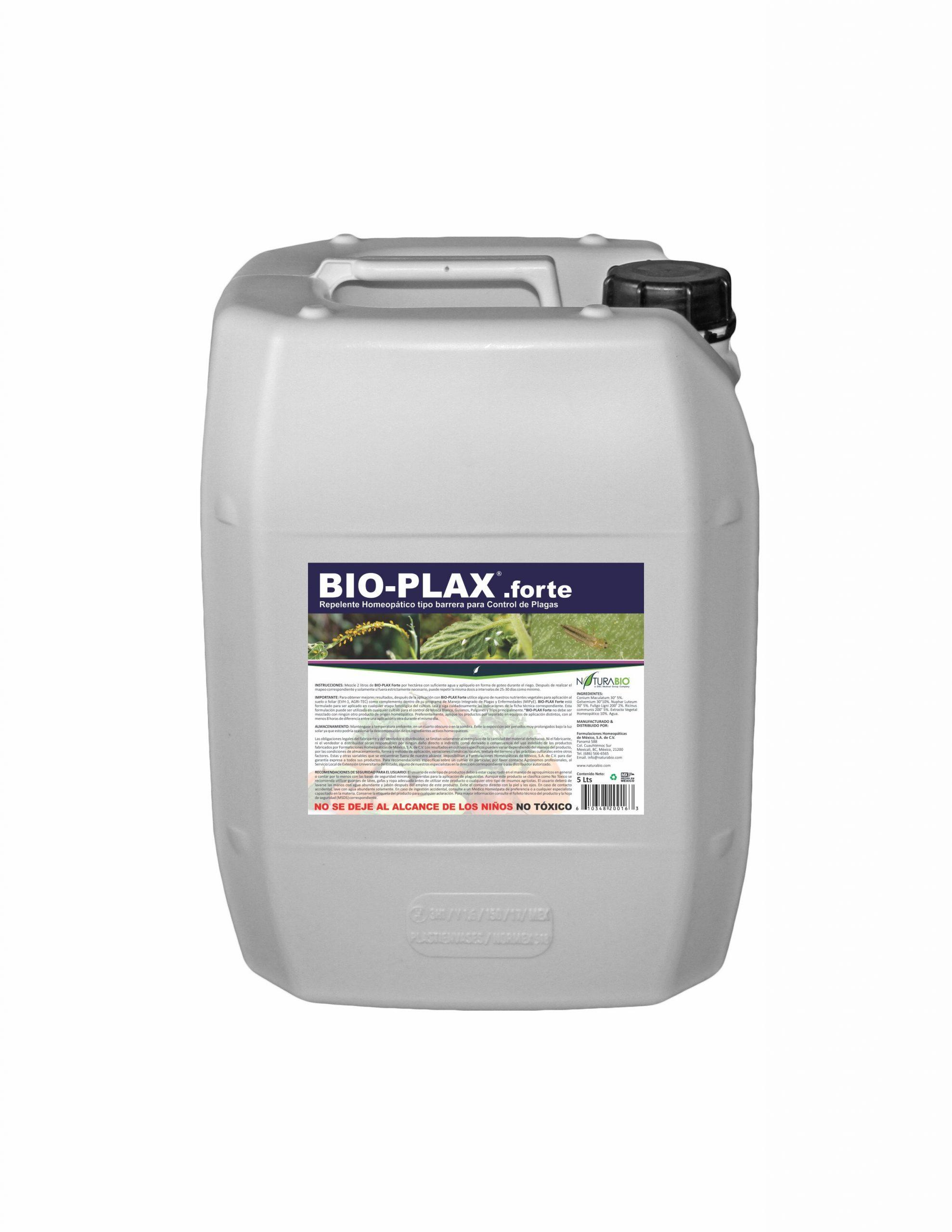 BIO-PLAX.forte Repelente Homeopático tipo barrera para Control de Plagas