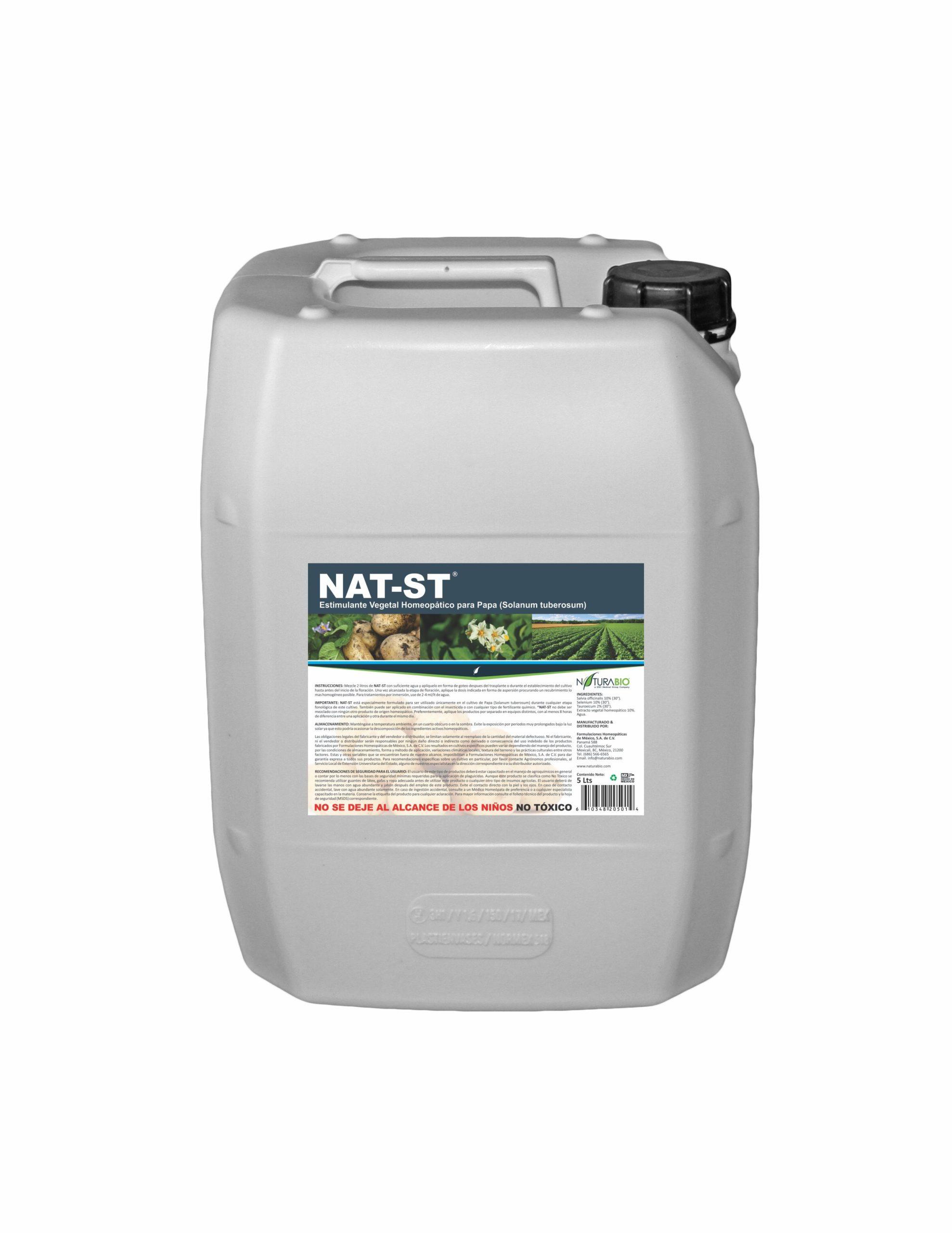 NAT-ST Estimulante Vegetal Homeopático para Papa