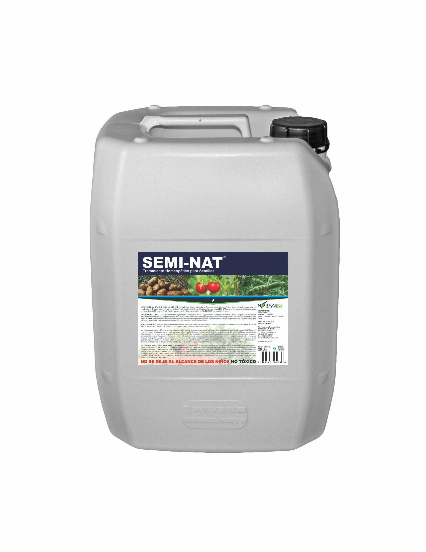 SEMI-NAT Tratamiento Homeopático de Semillas